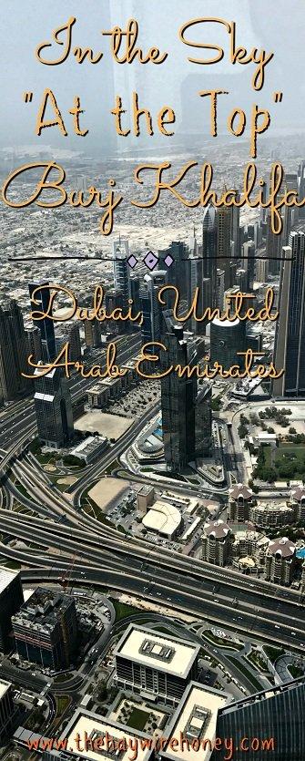Dubai travel, visit the Burj Khalifa the tallest building in the world. Middle east travel.