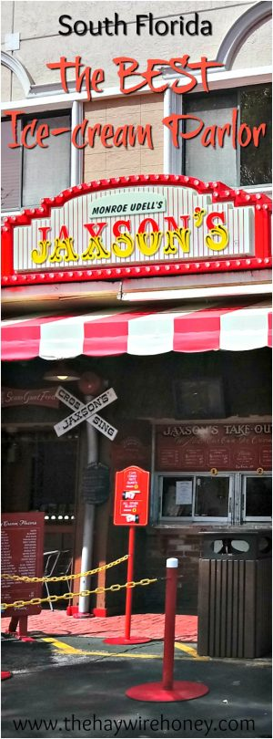 Best food in Florida. Where to eat in south florida. Best ice cream in florida. Jaxsons ice cream parlor in dania beach, florida.